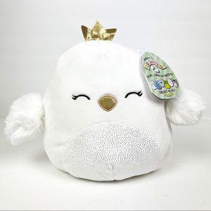 "NWT Squishmallows Alyssa the Swan 8"""